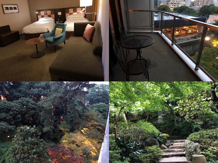 シェラトン都ホテル東京 コンフォートフロア ラグジュアリールーム