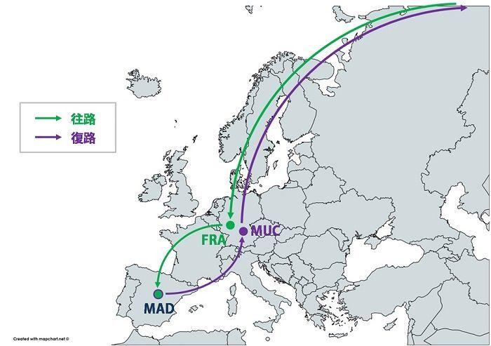 ヨーロッパ周遊の場合、どの国でタックスリファンドすべきか