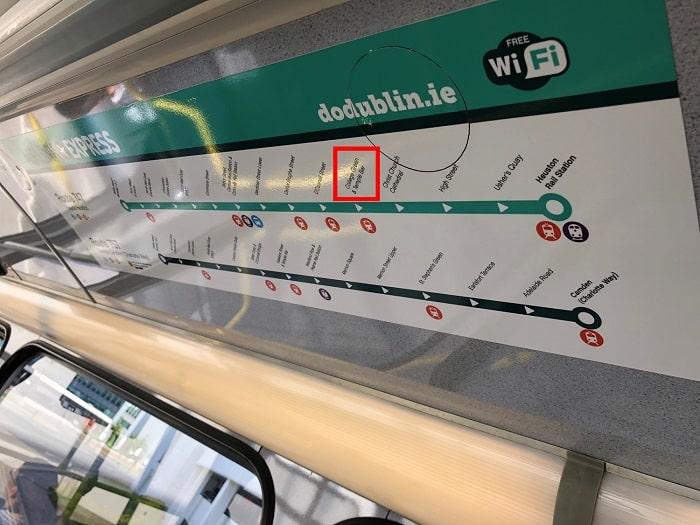 ダブリン空港 バス 路線図