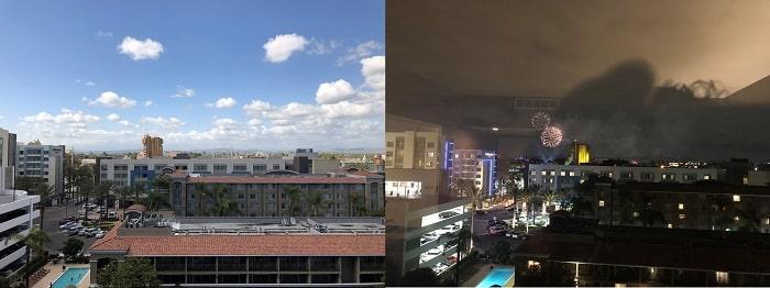 シェラトン・パークホテル・アナハイムリゾート 部屋からの眺望
