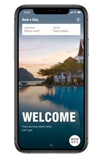 マリオットボンヴォイスマートフォンアプリ