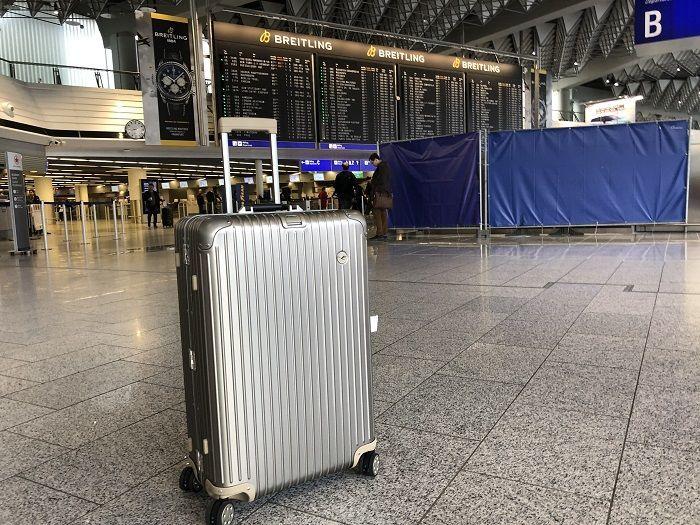 RIMOWAルフトハンザプライベートジェットコレクション in フランクフルト空港
