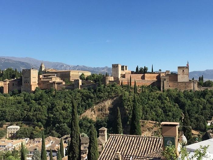 2017年6月のスペイン旅行の海外特典航空券夫婦二人分120,000 ANAマイル