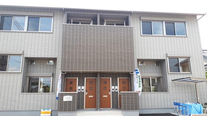 新築アパート