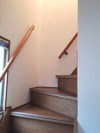 階段アフター