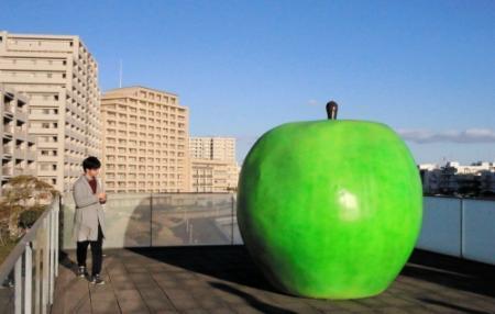 青春のシンボル青りんご