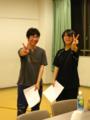 2011・7月公演風景*アナウンサー組