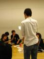 2011・7月公演練習風景*合コン組と演出さん