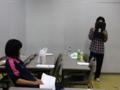 2011・7月公演練習風景*ADと店員