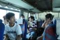 合宿先に向かうバス中