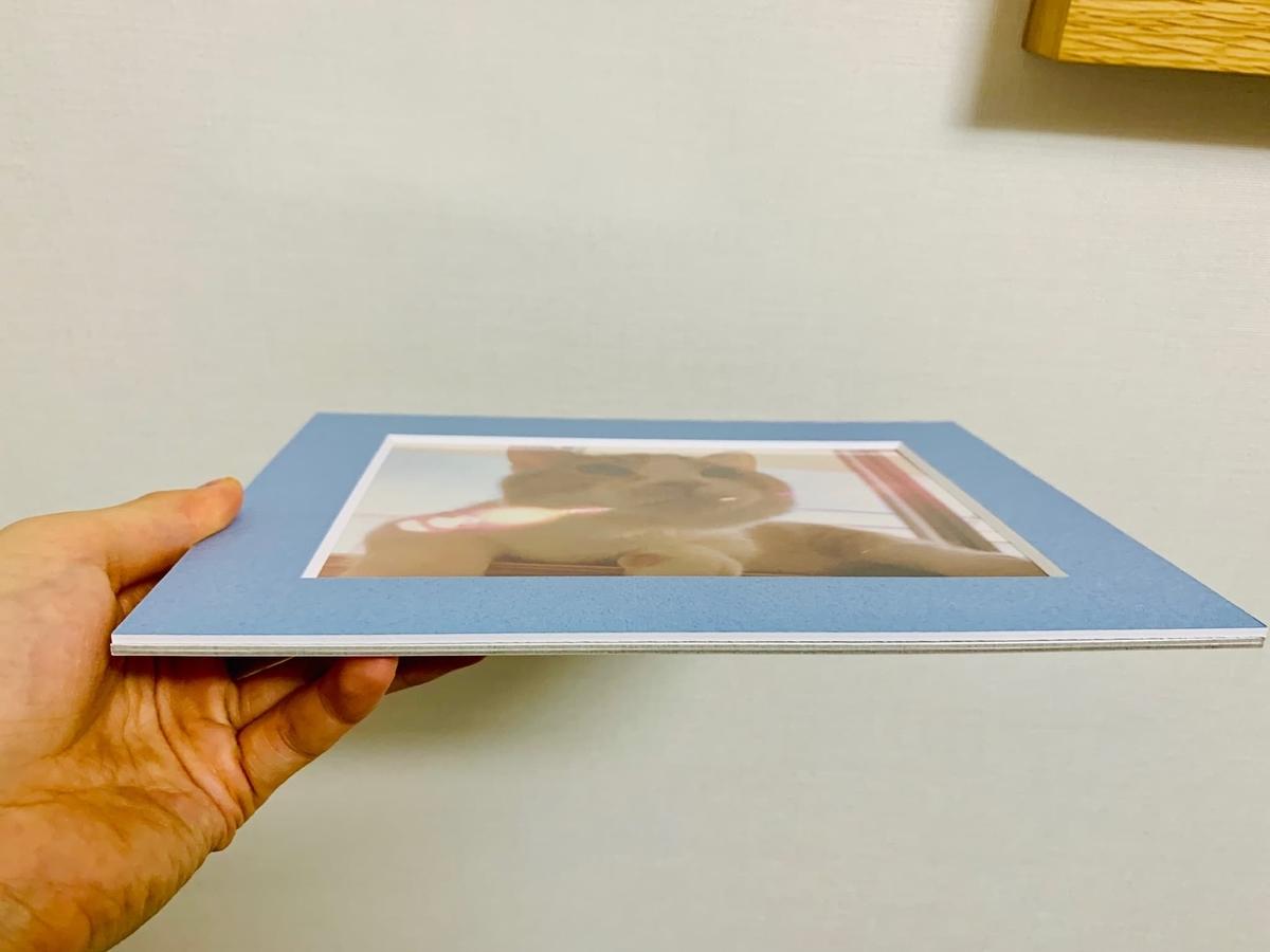 紙の写真フレーム2