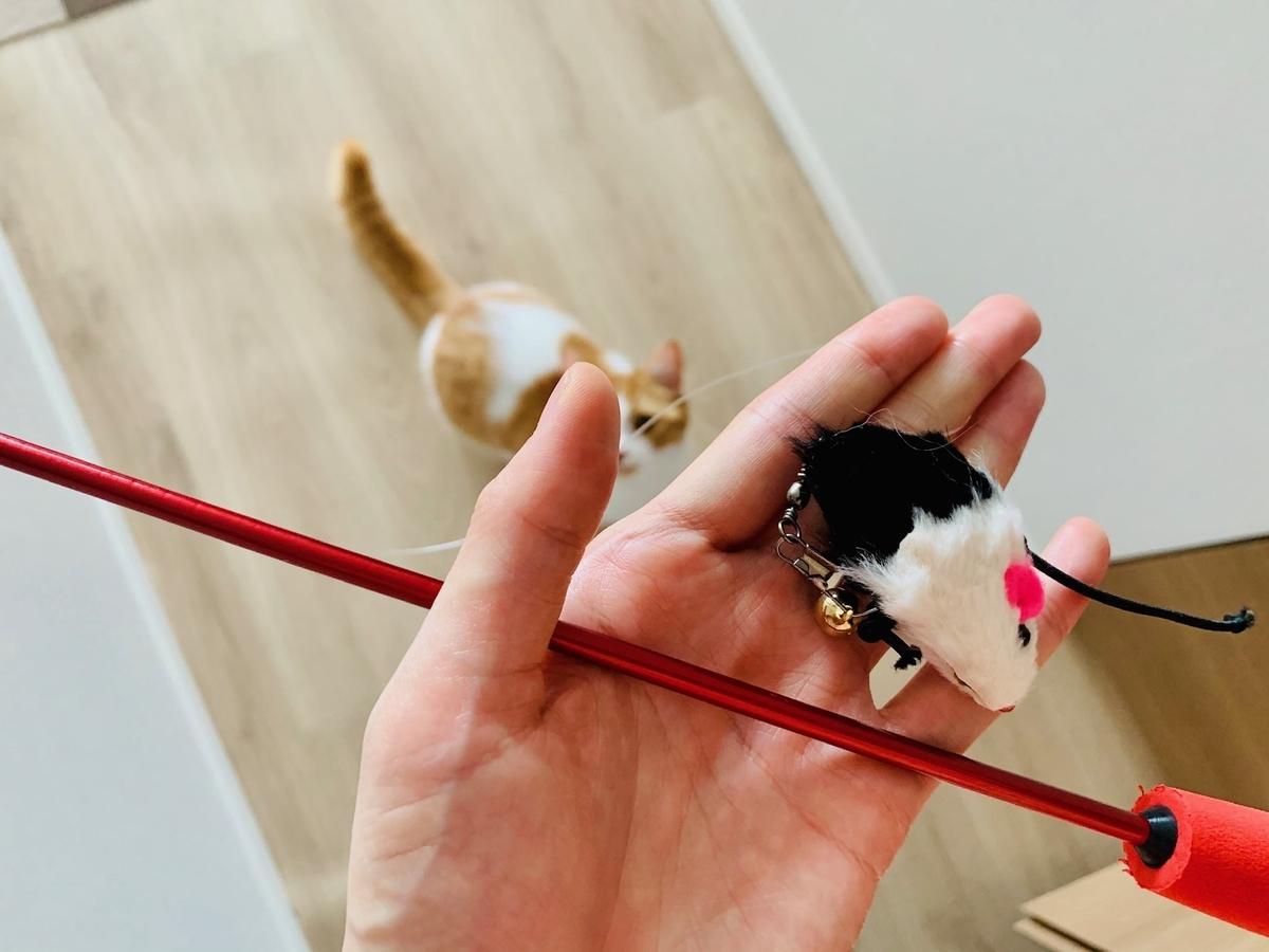 リメイク猫じゃらしのおもちゃ