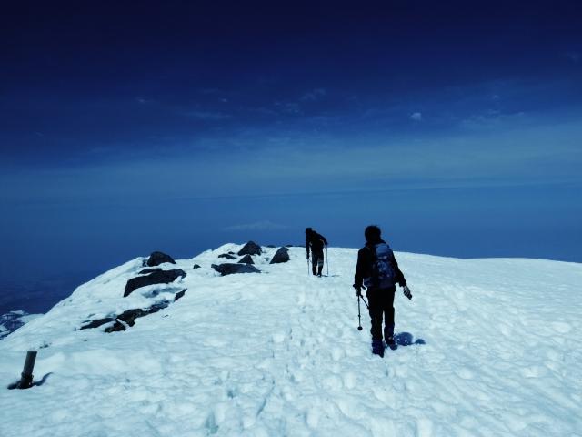 冬山をソロで登山
