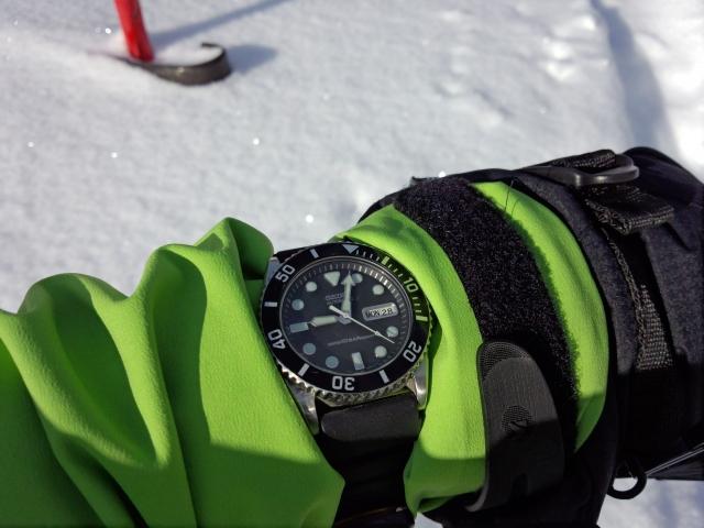 冬山の日照時間