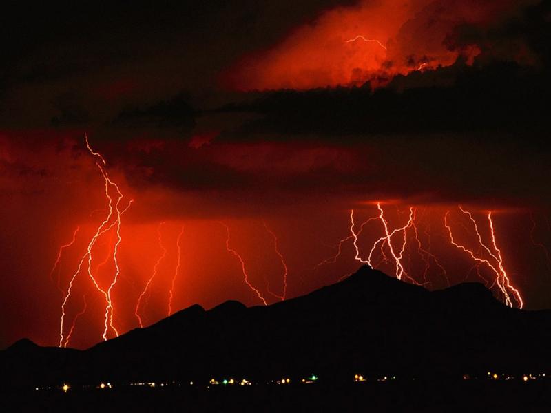 登山での雷の対策