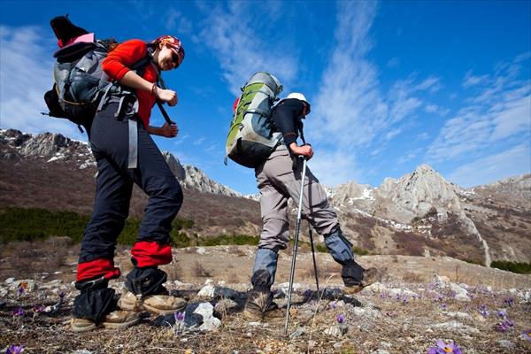 登山での足の怪我