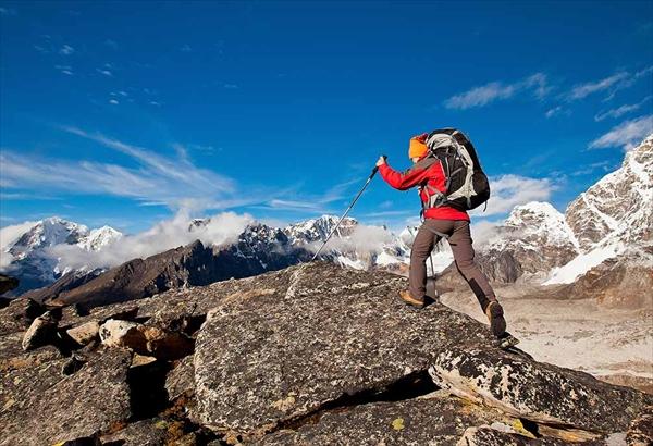 登山と地形図と高度計