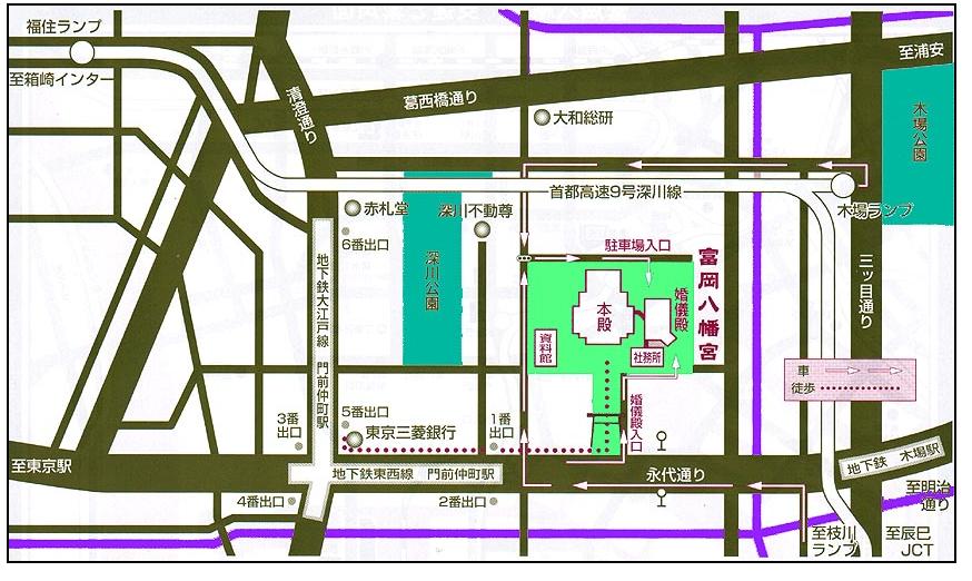 富岡八幡宮 ご利益 御朱印 パワースポット 東京富岡八幡宮で勝負運のご利益!ご利益パワースポットで御朱印
