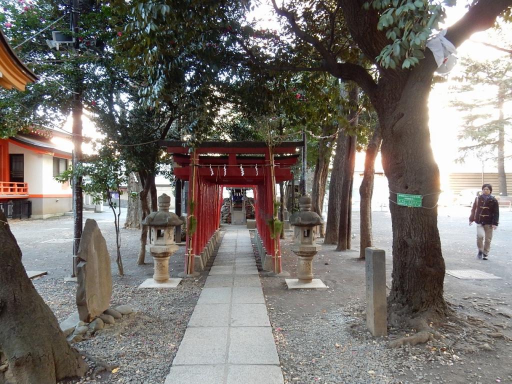 新宿 花園神社 芸能 縁結び 開運 パワースポットで御朱印