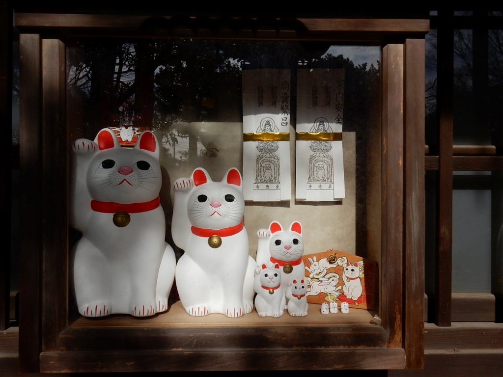 f豪徳寺 招き猫 縁結び 紹運 開運 ご利益 パワースポットで御朱印