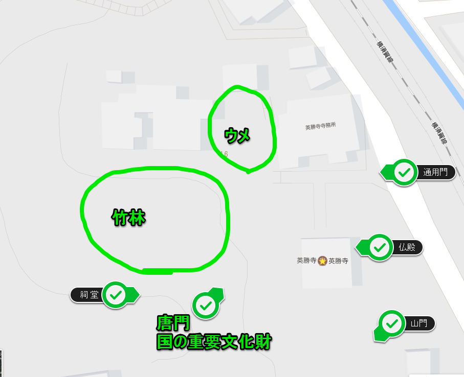鎌倉 英勝寺 ご朱印 ご利益  ウメ カイドウ 地図 時間 行き方 アクセス 二月 花の寺とも呼ばれる鎌倉唯一の尼寺英勝寺!竹林にも魅了されます