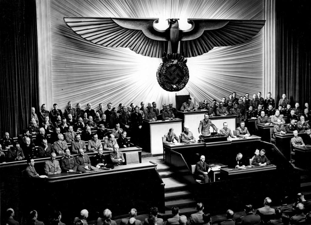 ヒトラーが戦争勝利後に計画していた「世界新秩序」の画像