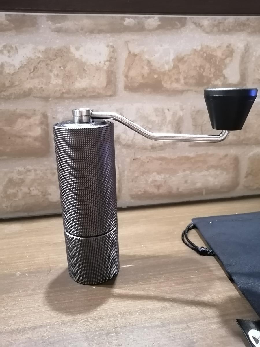 タイムモアのコーヒーミルのし画像