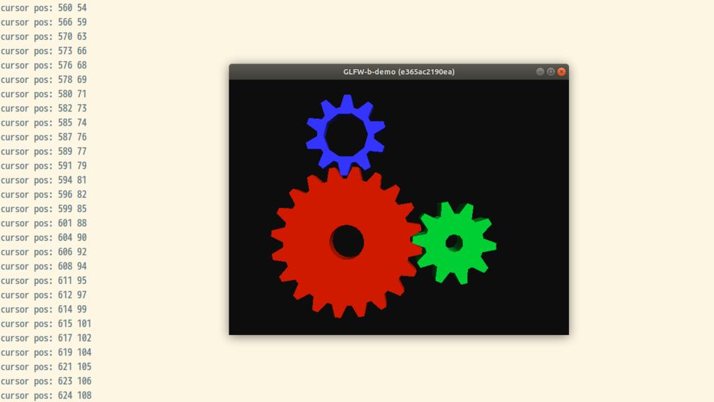 Docker 内で GLFW のプログラムを動かすサンプル - tkaaad97's diary