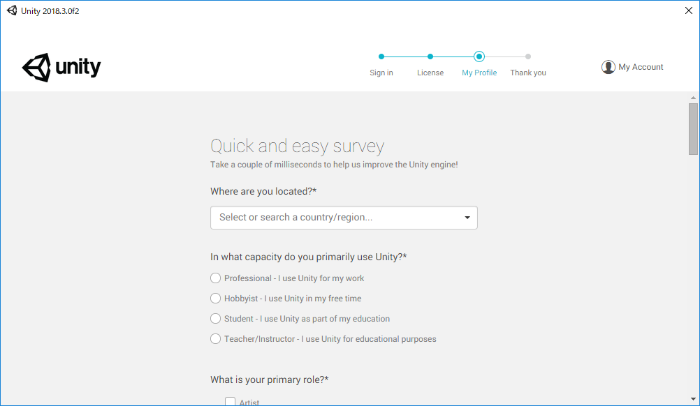 quick and easy survey