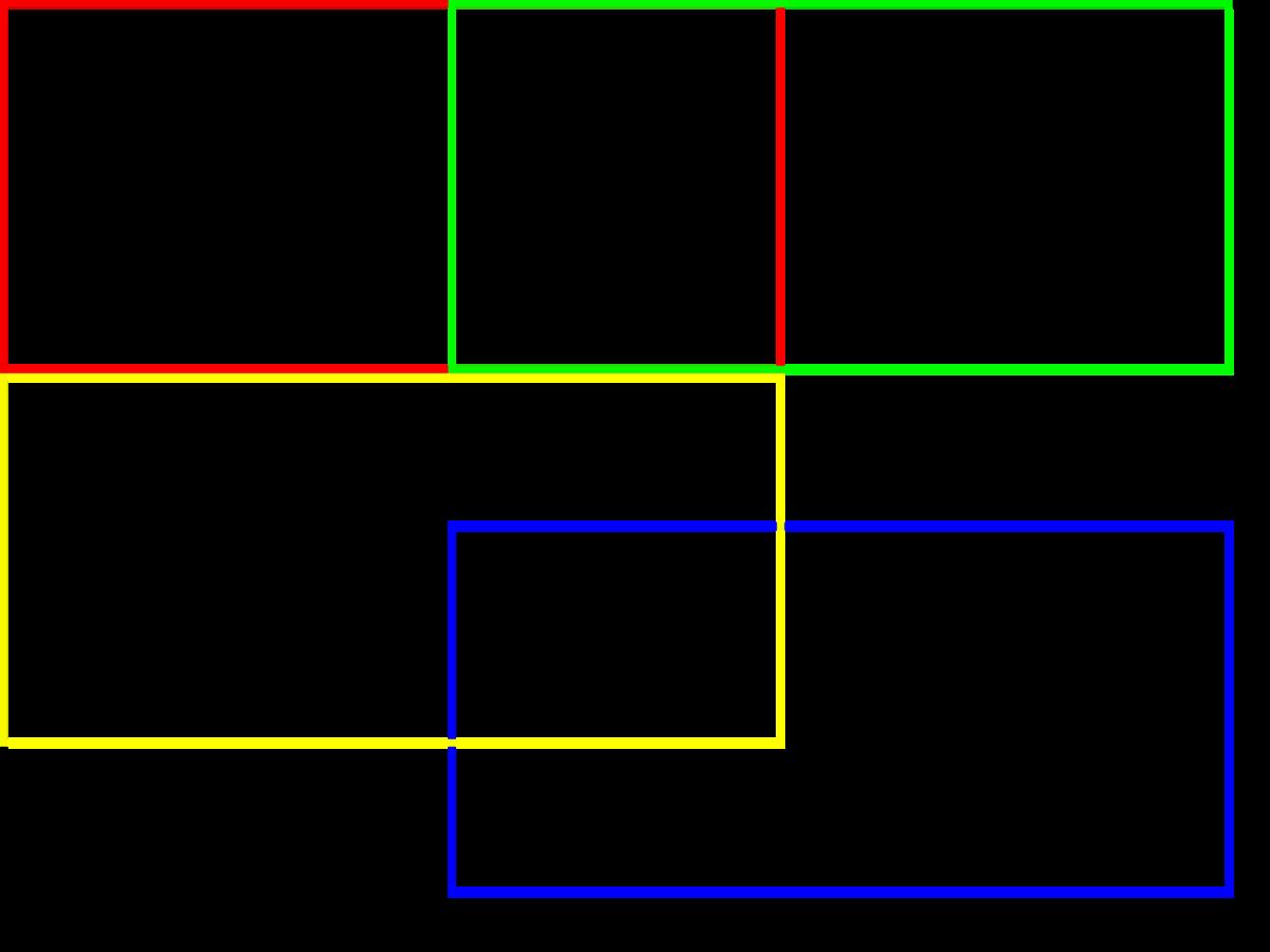 図2 横置き4枚