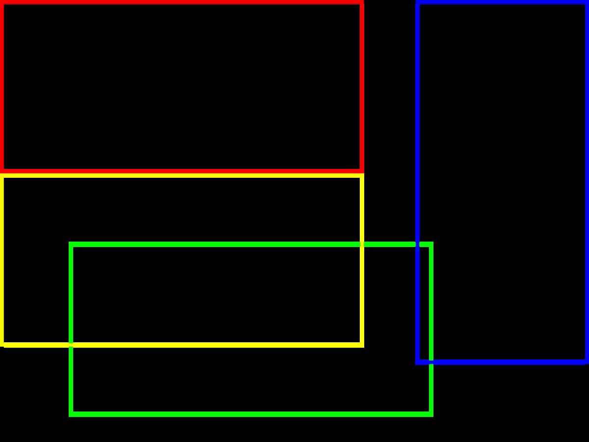 図3 横置き3枚、縦置き1枚