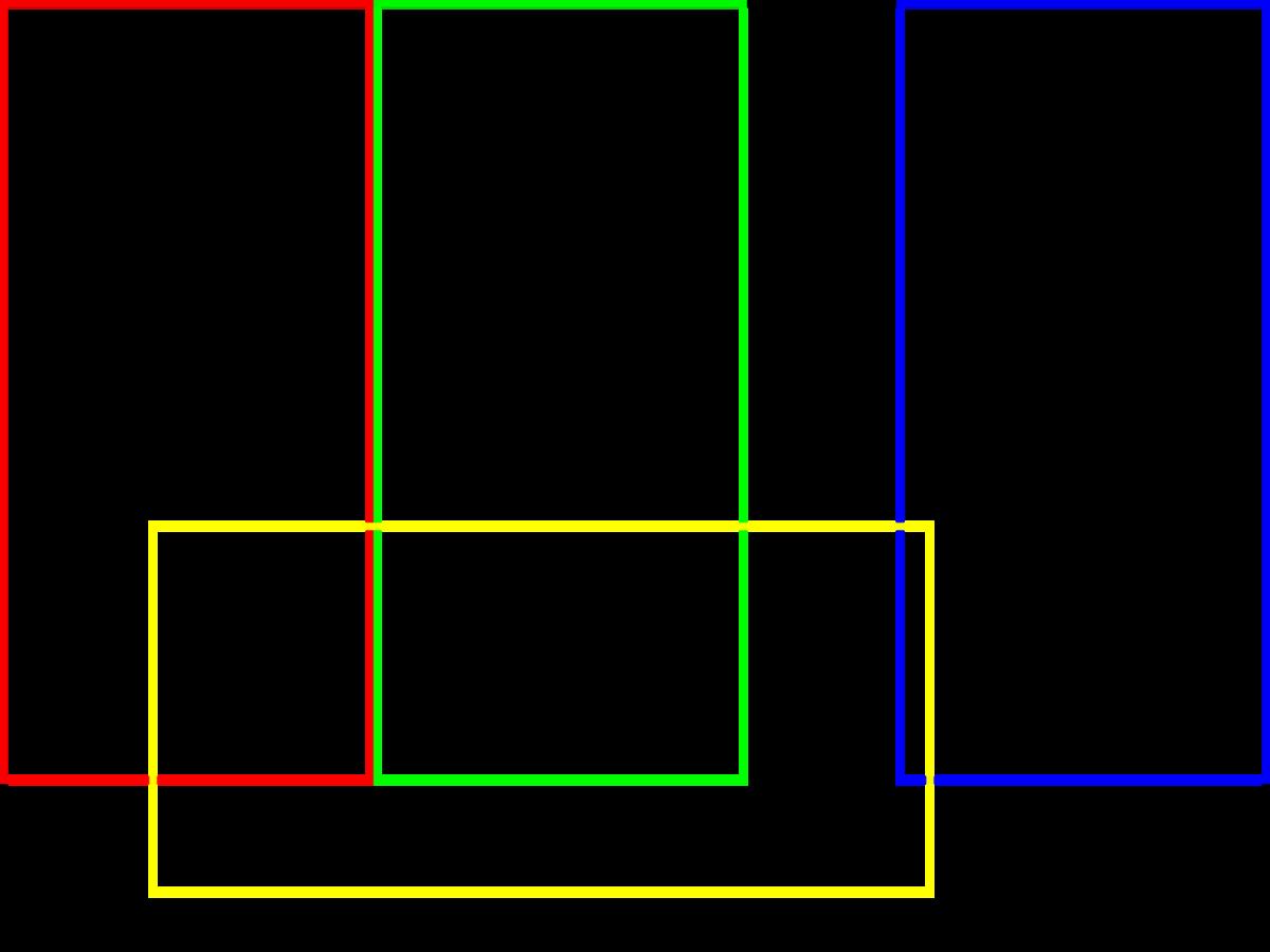 図5 横置き1枚、縦置き3枚