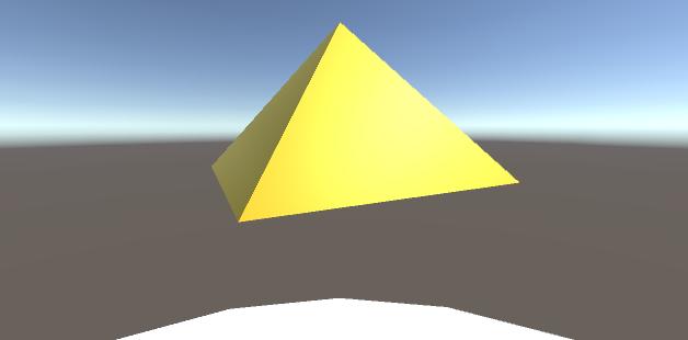 雲とピラミッド