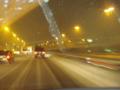 横浜へ行く途中で大雪に・・・