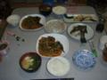 10月 浜名湖定食 イシガレイのあんかけ マダカの刺身とカマの塩