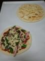[twitter] 生地から手作りピザ。