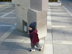 大阪城公園にて