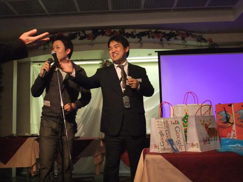 大阪IT飲み会の顔、EC studio山本社長とサムシングファン薮本社長