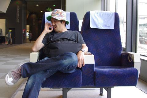 新幹線の椅子