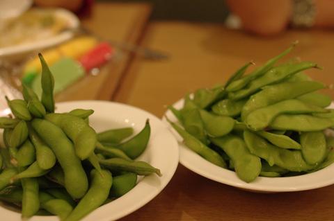 枝豆食いすぎw