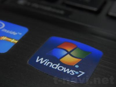Windows7ロゴシール