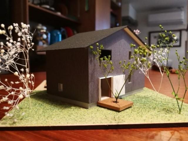 建築士が作った我が家の模型