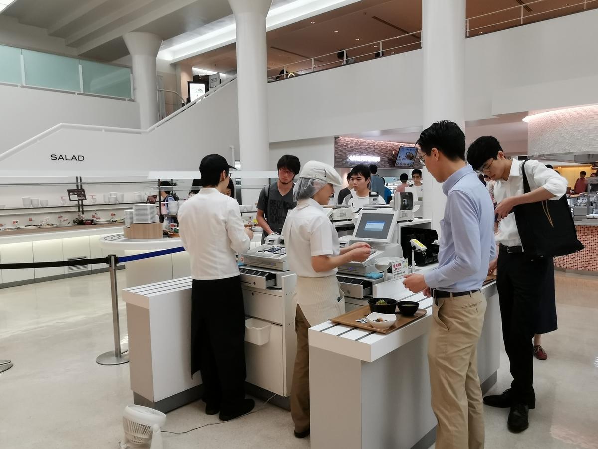東京大学中央食堂のレジ