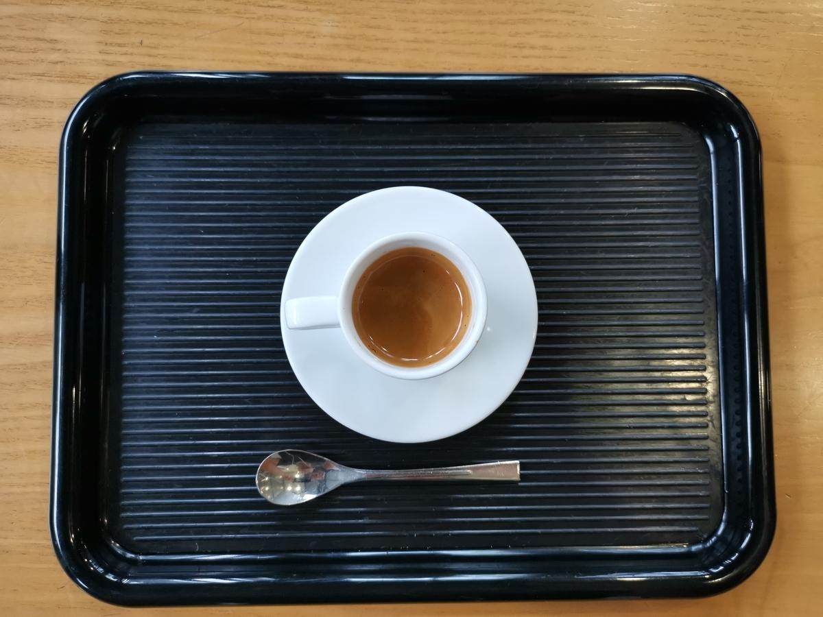 小さすぎるコーヒー