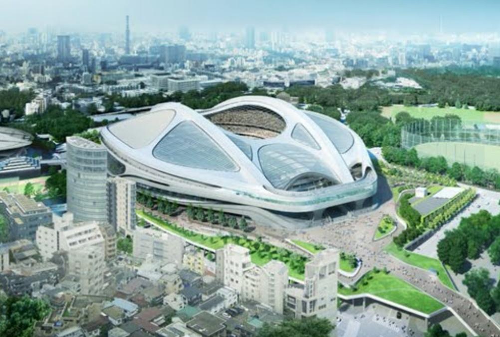 ザハ・ハディドが設計した新国立劇場