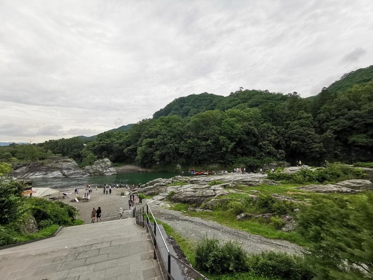 長瀞町の岩畳
