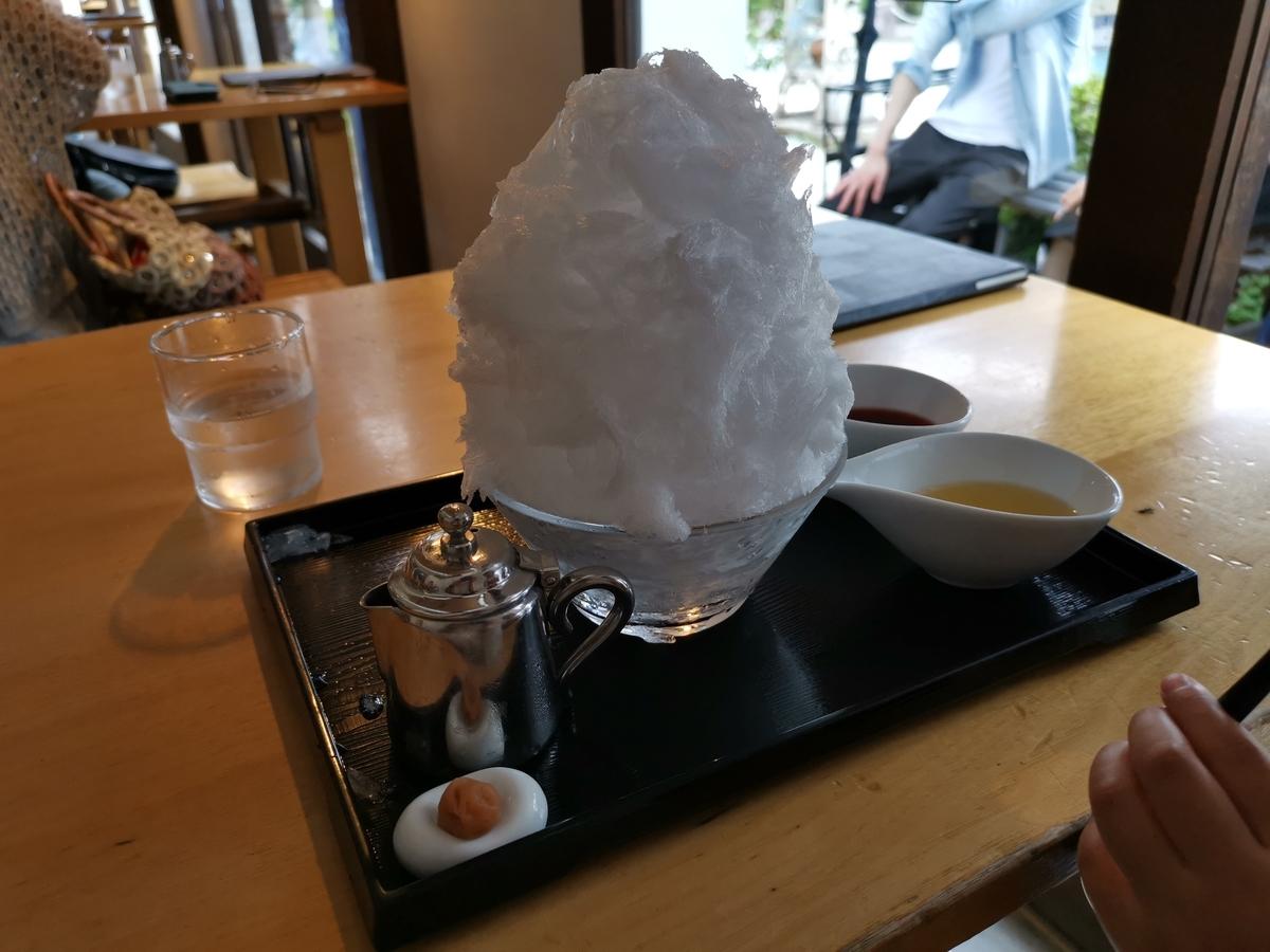 阿左美冷蔵のかき氷