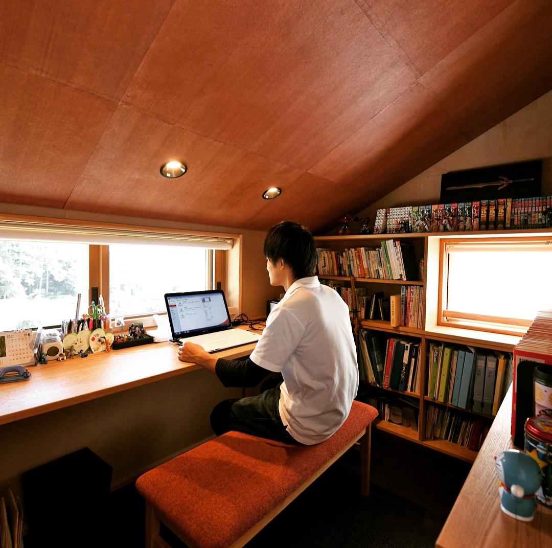 屋根裏の趣味部屋