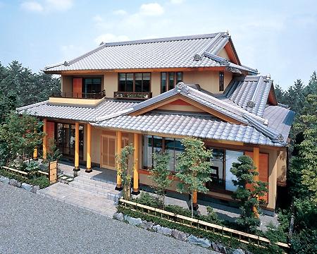 モダンな和風の家