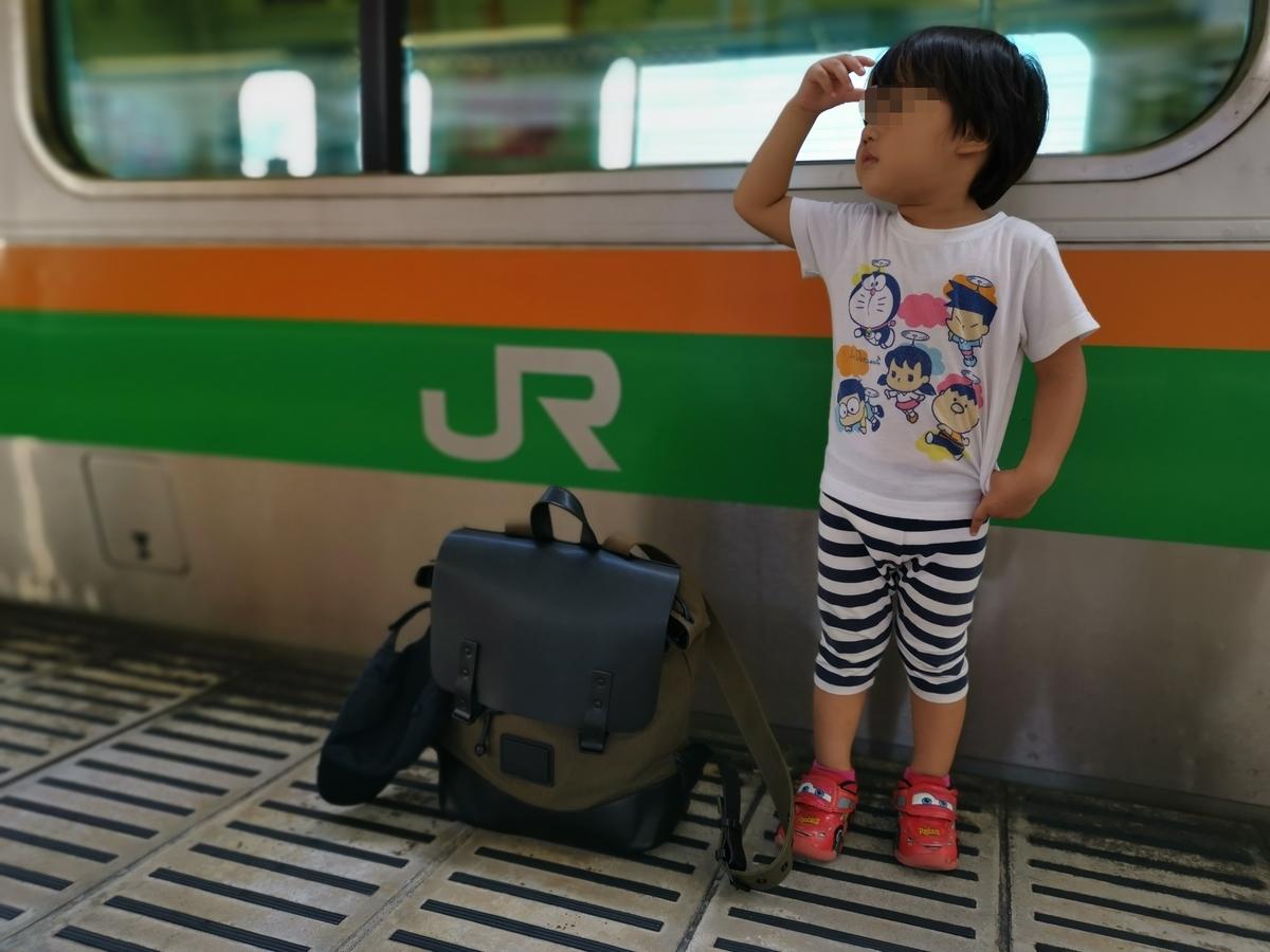 宇都宮駅で乗り換え